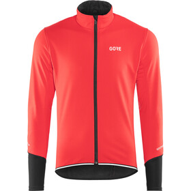 GORE WEAR C5 Windstopper Chaqueta Térmica Hombre, red/black